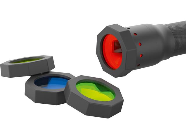Ledlenser Color Filter Set 37mm, czarny
